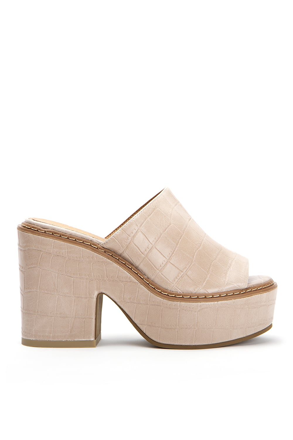 Edith Croco Taupe