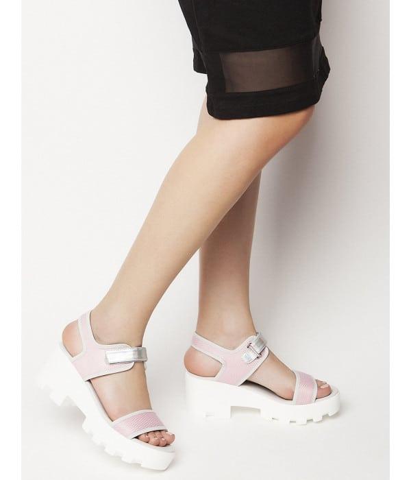 Low Chunky heels