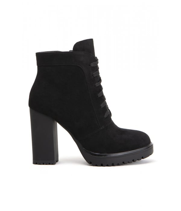 Valley Black Suede
