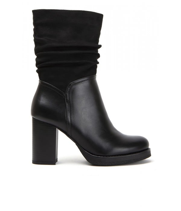 Coruna Black Leather