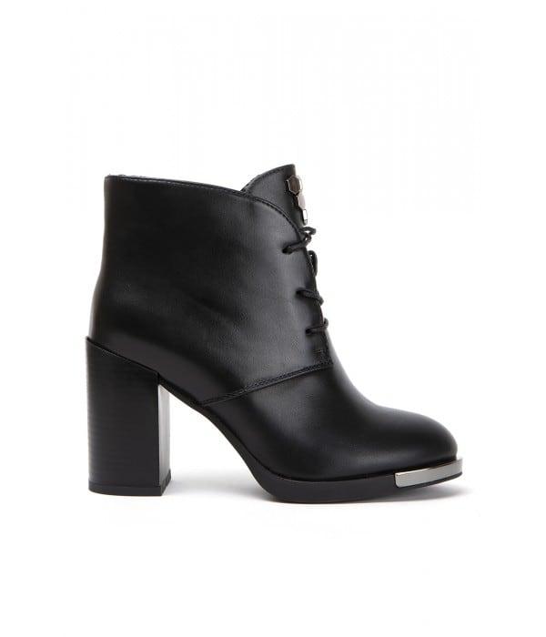 Parte Black Leather