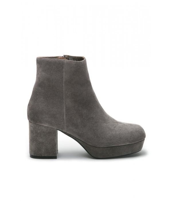 Dames Taupe Suede