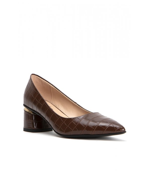 Assisi Brown Croco