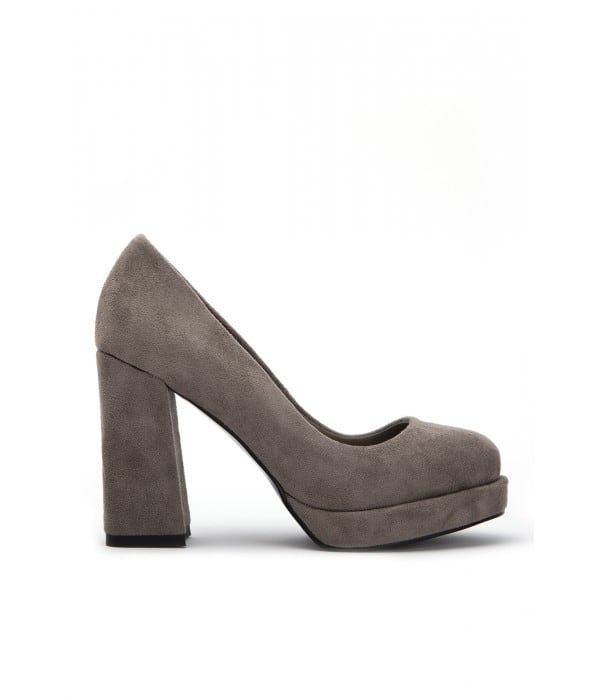 Olwen Taupe Suede