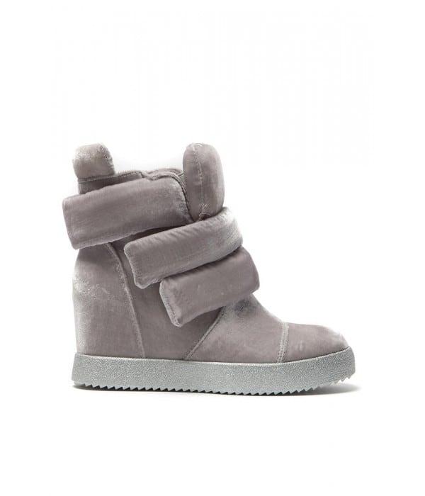 Perla/S Grey Velvet