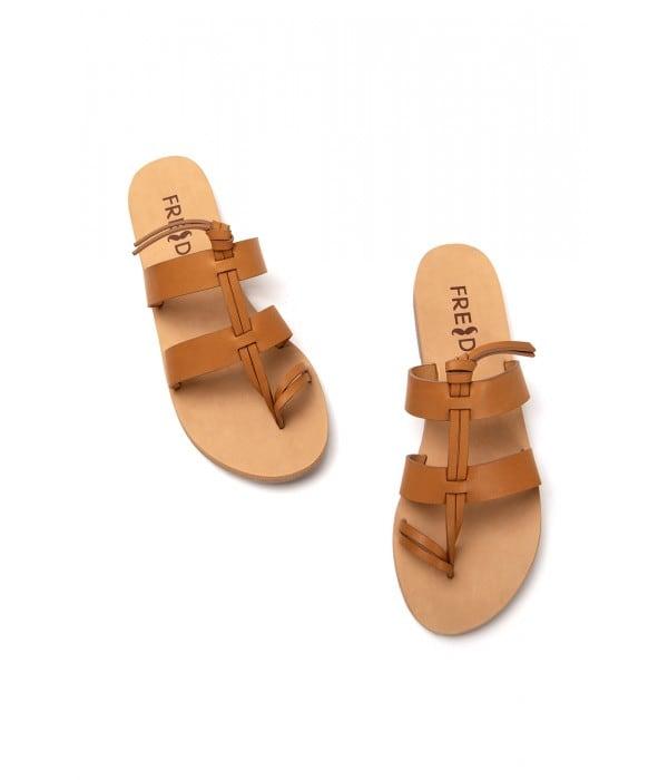 Santorini Tan Leather