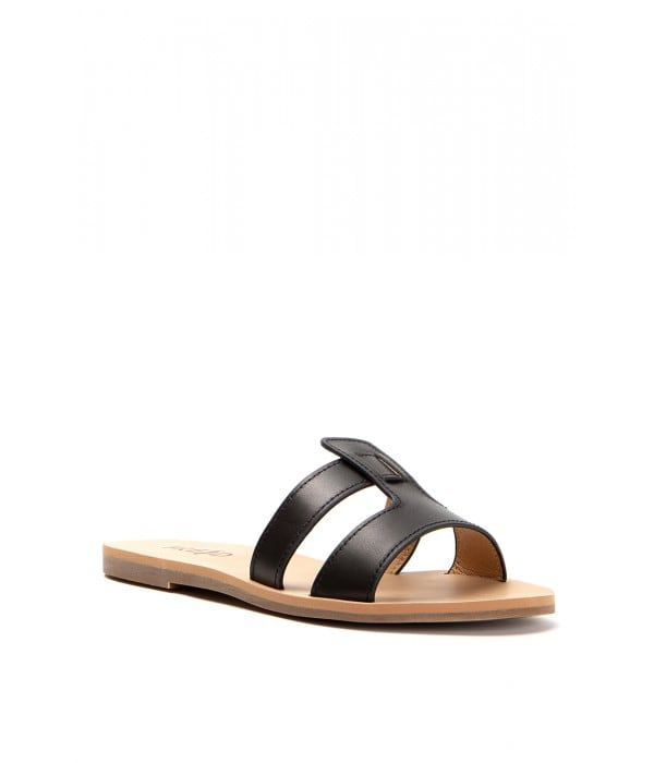 Syros Black Leather