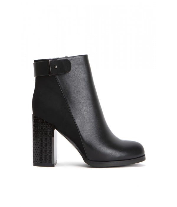 Missina Black Leather