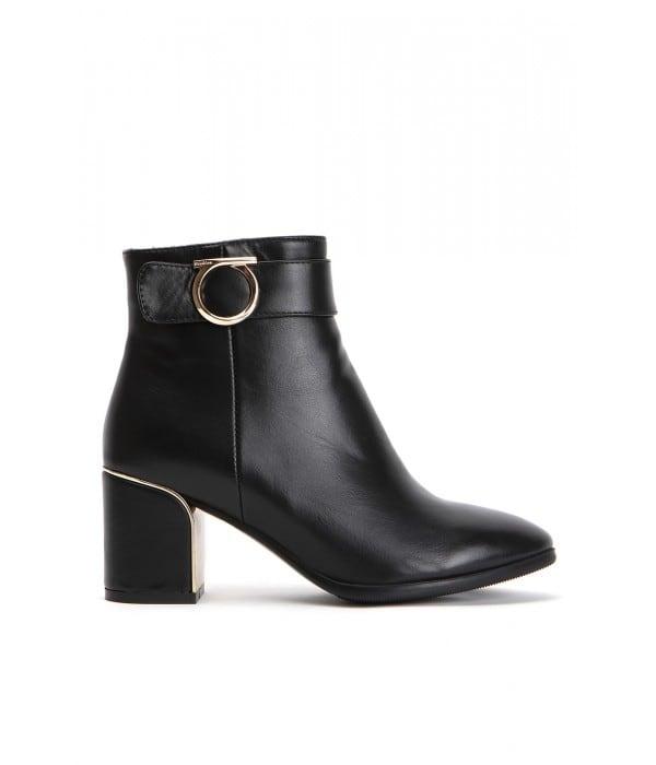 Torino Black Leather