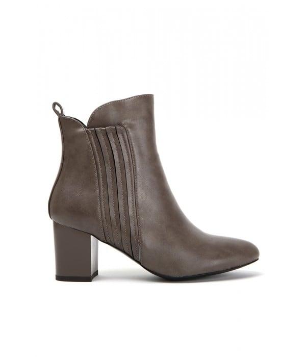 Marple Taupe Leather