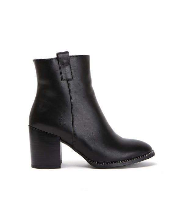 Selby Black Leather