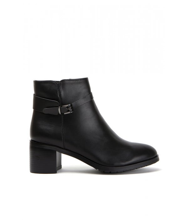 Leme Black Leather