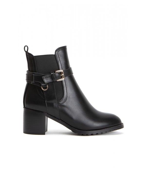 Marlon Black Leather