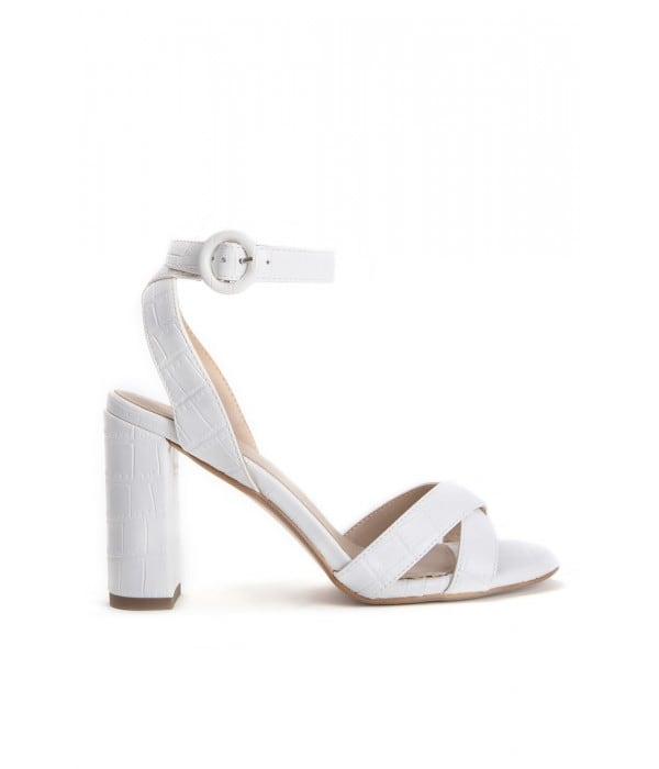Savoy Croco White