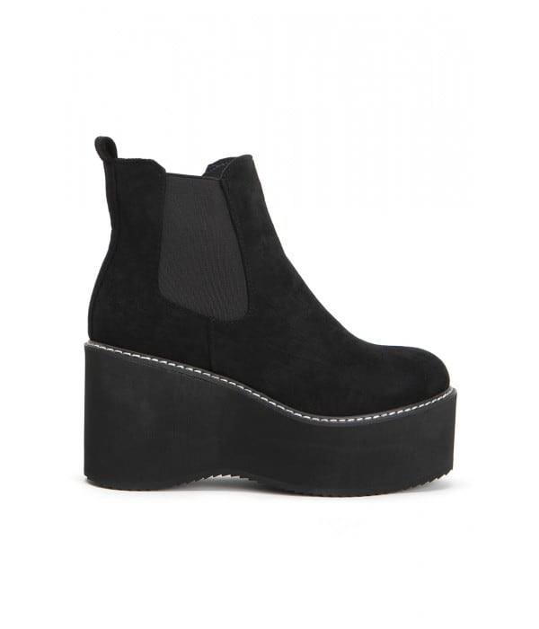 Everly Black Suede
