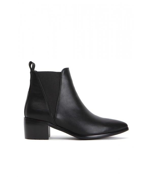 Folk Black Leather
