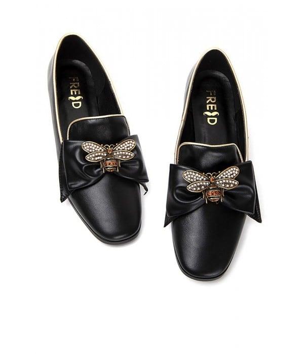Cortino Black Leather