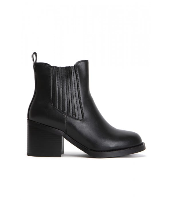 Otis Black Leather