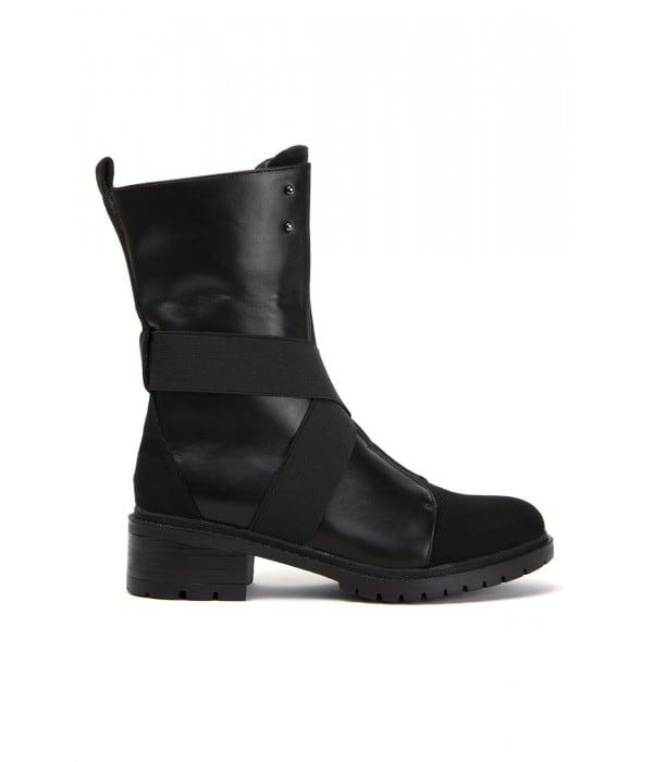 Ragusa Black Leather