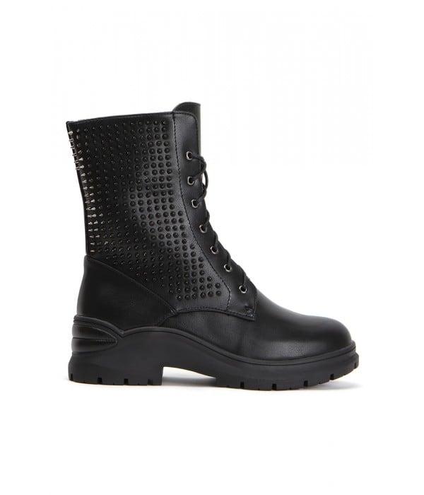 Nascar Black Leather