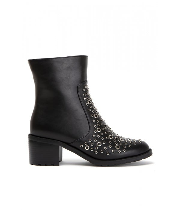 Mora Black Leather
