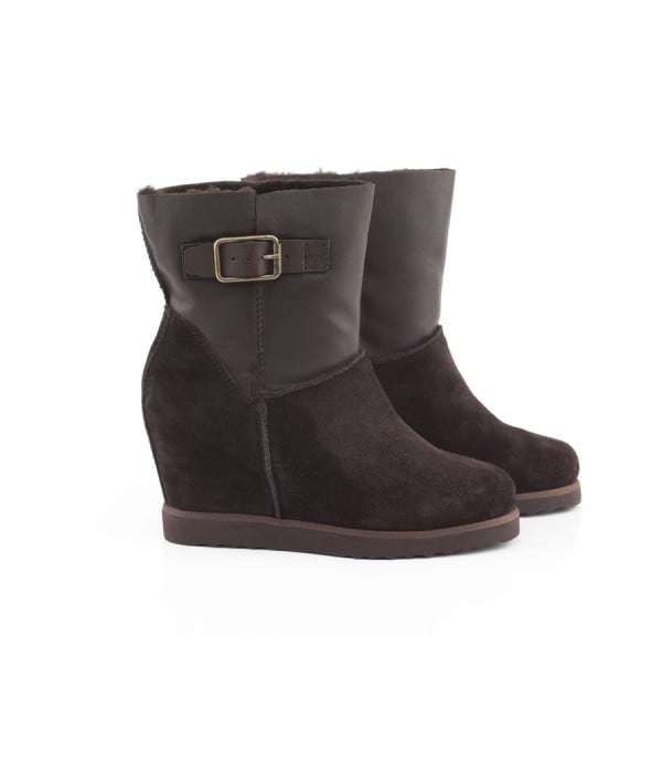 Luisa Coffee Suede