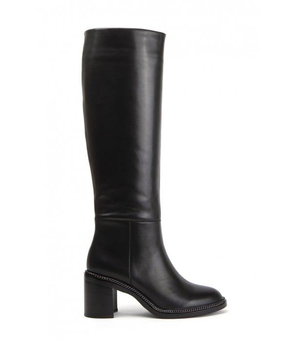 Rosarita Black Leather