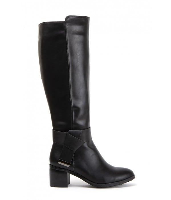 Victorius Black Leather