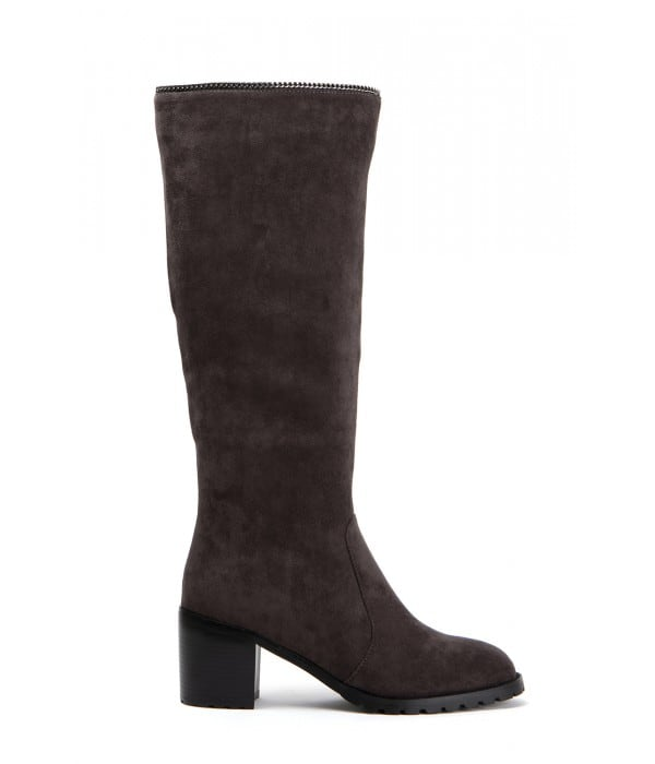 Deby Taupe Suede