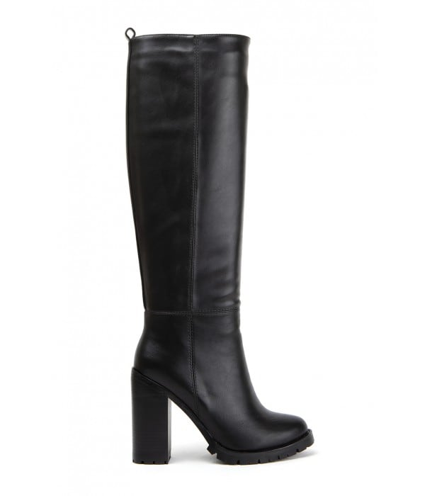 Estor Black Leather