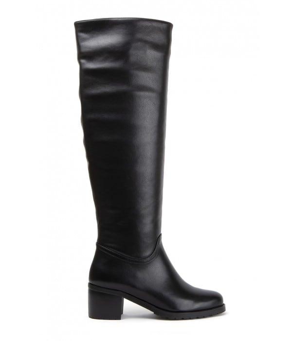 Gorda Black Leather