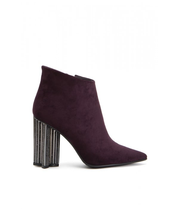 Obsession Maroon Suede