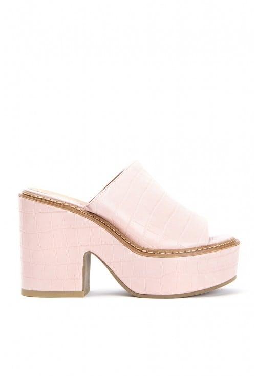 Edith Croco Pink