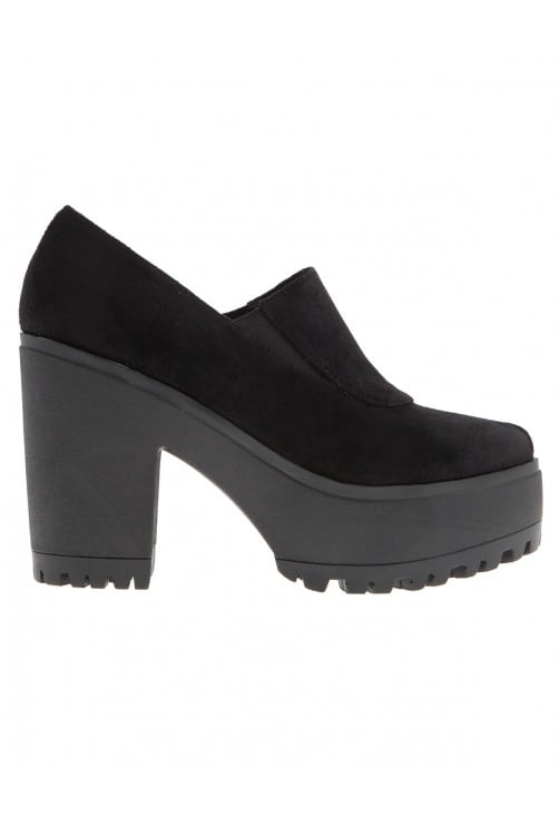 Ellie Black Suede