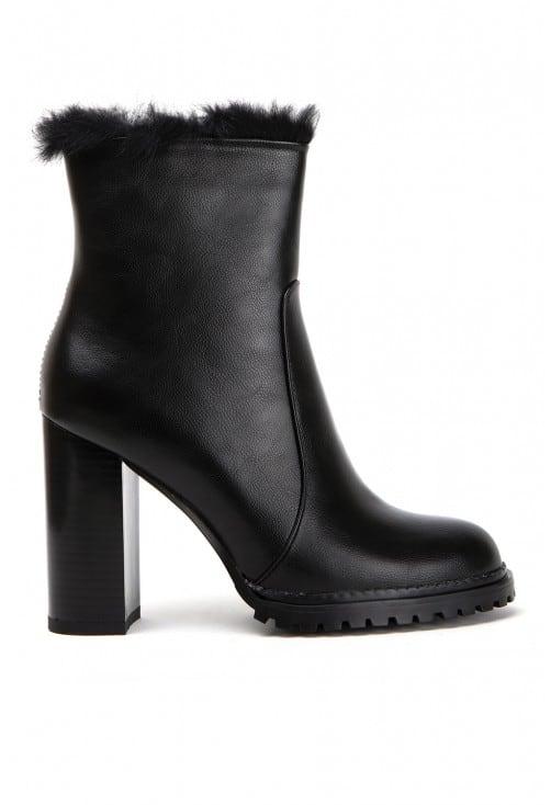 Lugo Black Leather