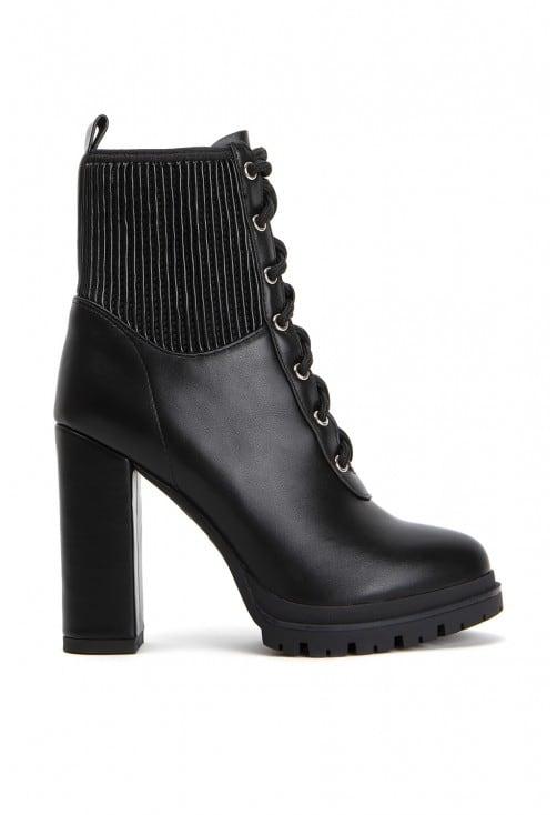 Rieti Black Leather