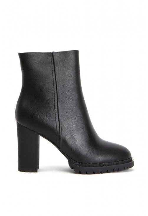 Gordon Black Leather