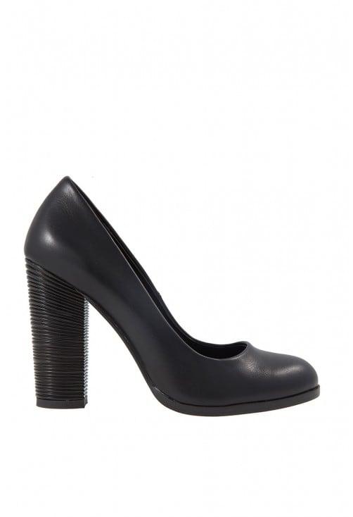 Jeva Black Leather B