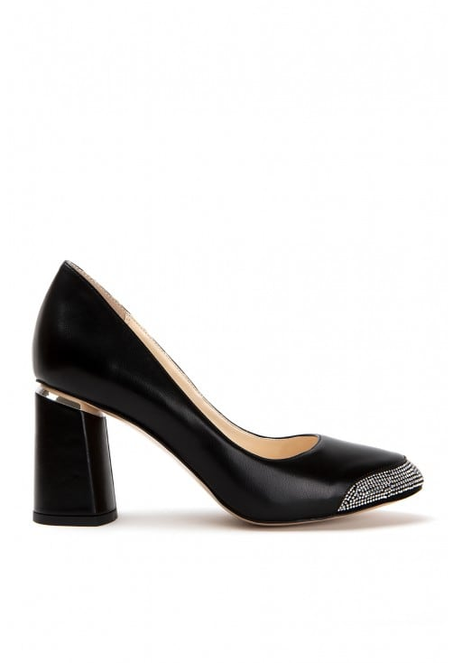 Lela Black Leather