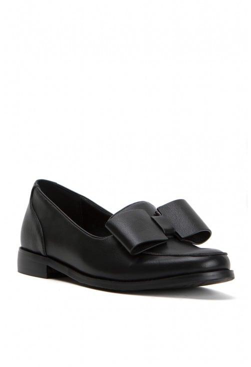 Venice Black Leather
