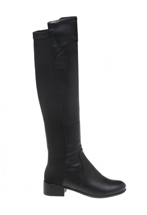 Milena Black Leather