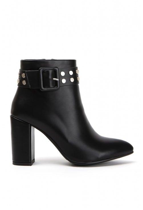 Matlock Black Leather
