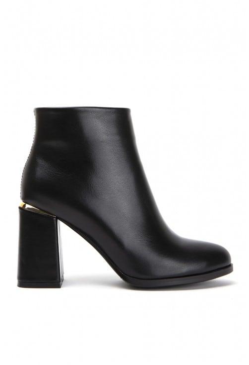 Ascot Black Leather