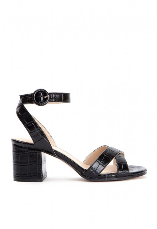 Rossini Croco Black