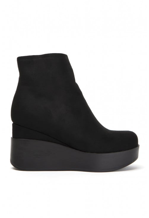 Tartano Black Suede