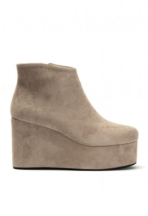 Roe Taupe Suede