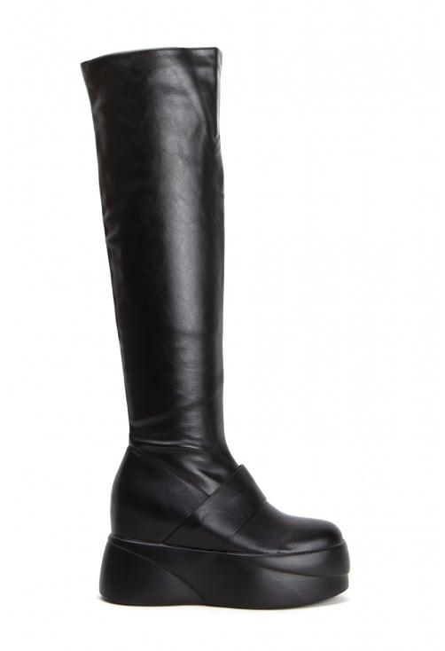 Disco Black Leather