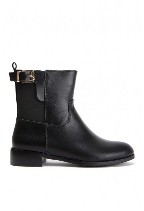 Cesena Black Leather