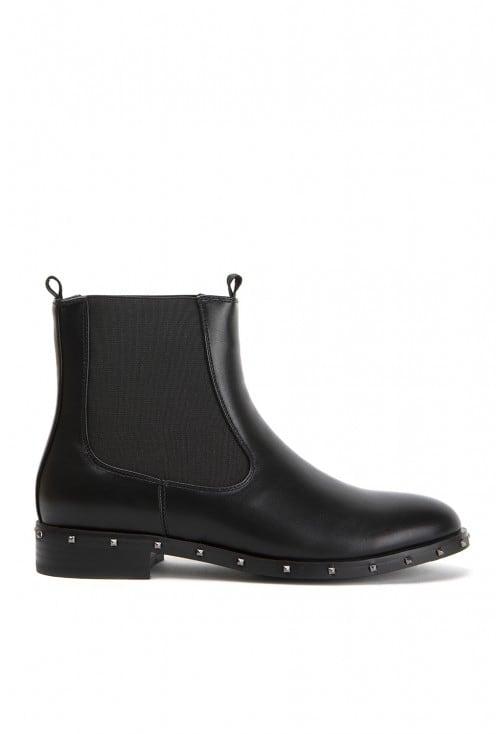 Nels Black Leather