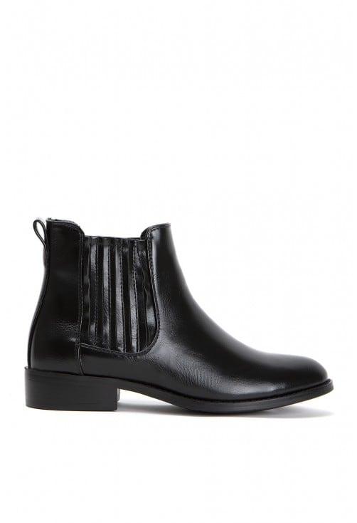 Indie Black Leather